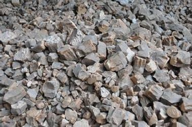 Brown Fused Calcium Aluminate MgO 2.0%Max For Good Quality Steel Refining Slag